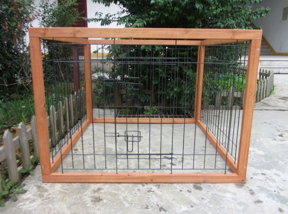 Image of: Small Dog Fence Ideas