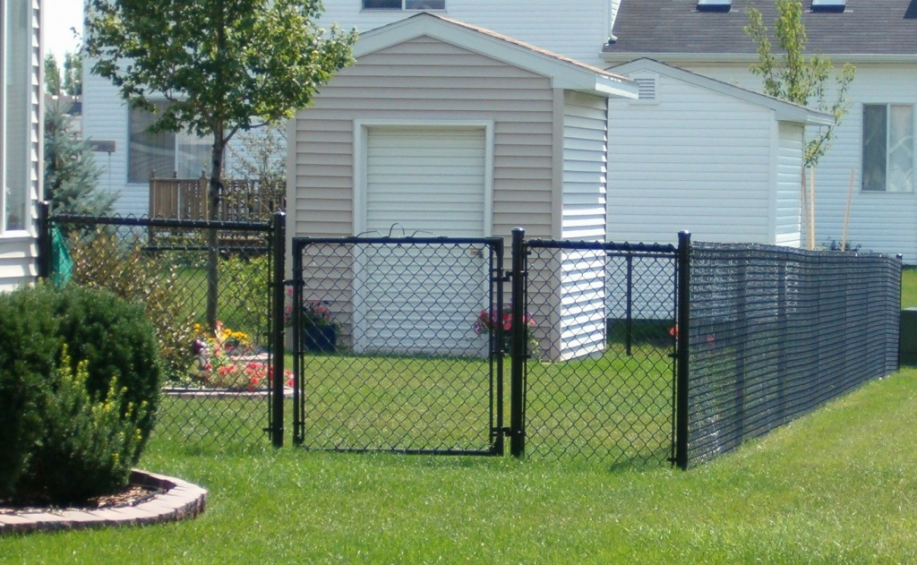 Image of: Stylish Chain Link Fence