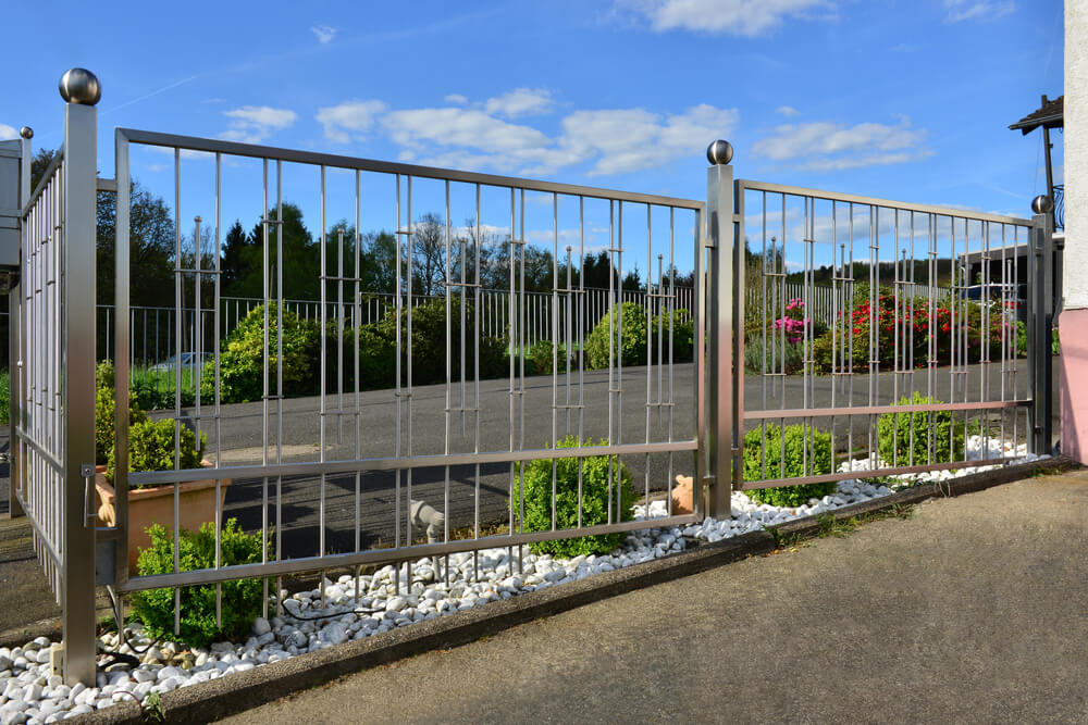 Stylish Metal Fences