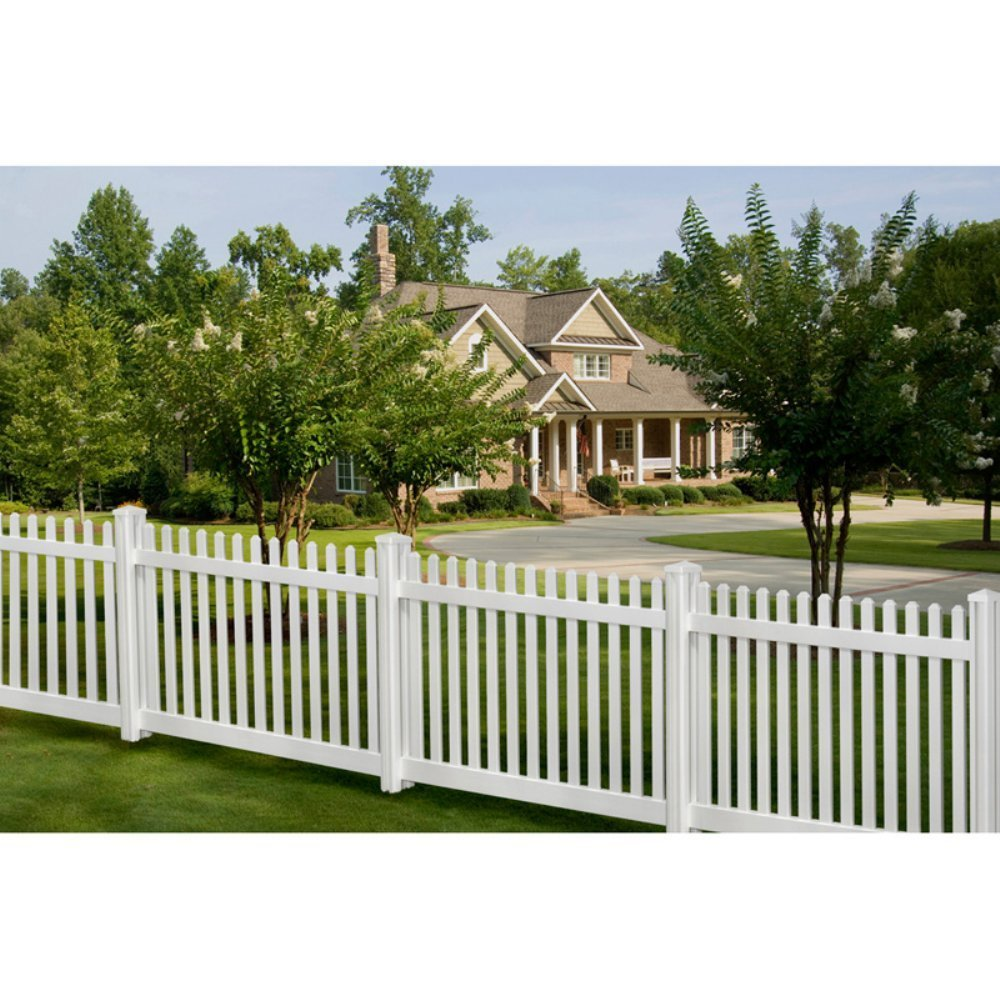 Image of: Traditional Cheap Fencing Ideas