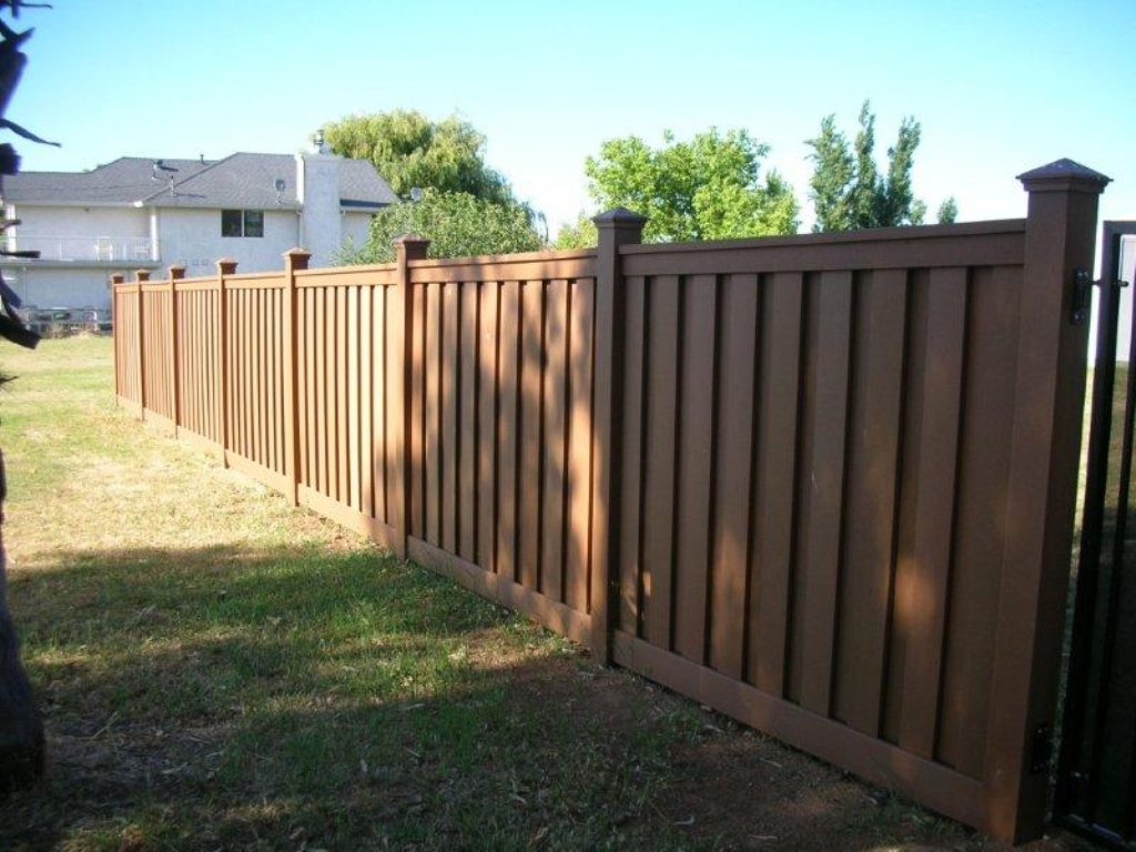 Vinyl Privacy Fence Panels Concrete Basement