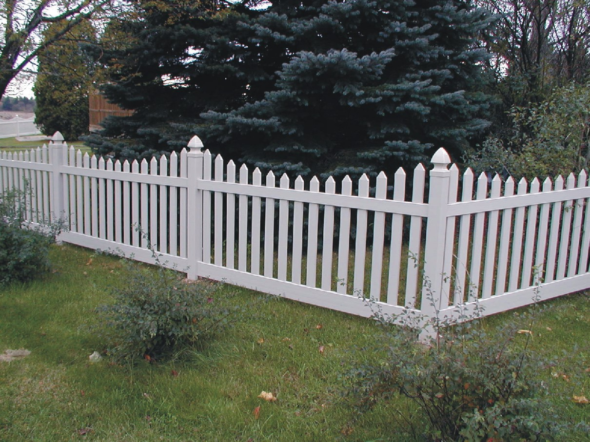 White Plastic Fence