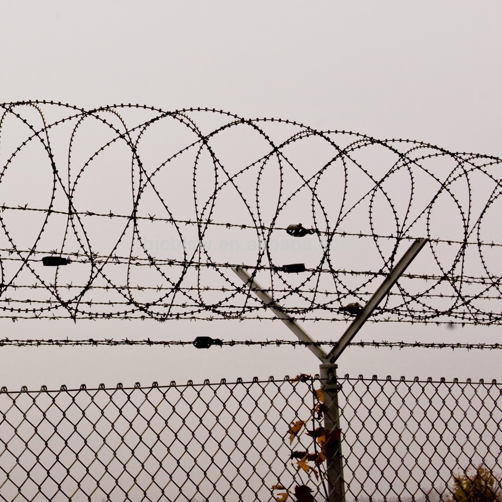 Wonderful Barbed Wire Fence