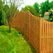 Image of: Wood Cheap Fencing Ideas