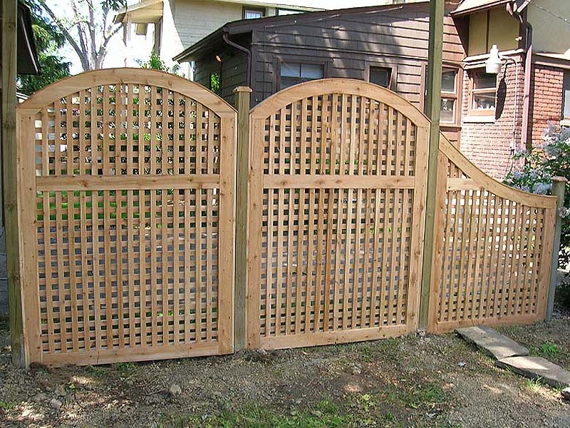 Wooden Cheap Fencing
