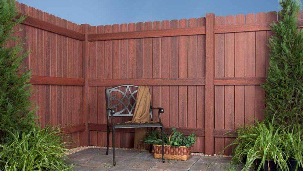 Wooden Composite Fence Panels