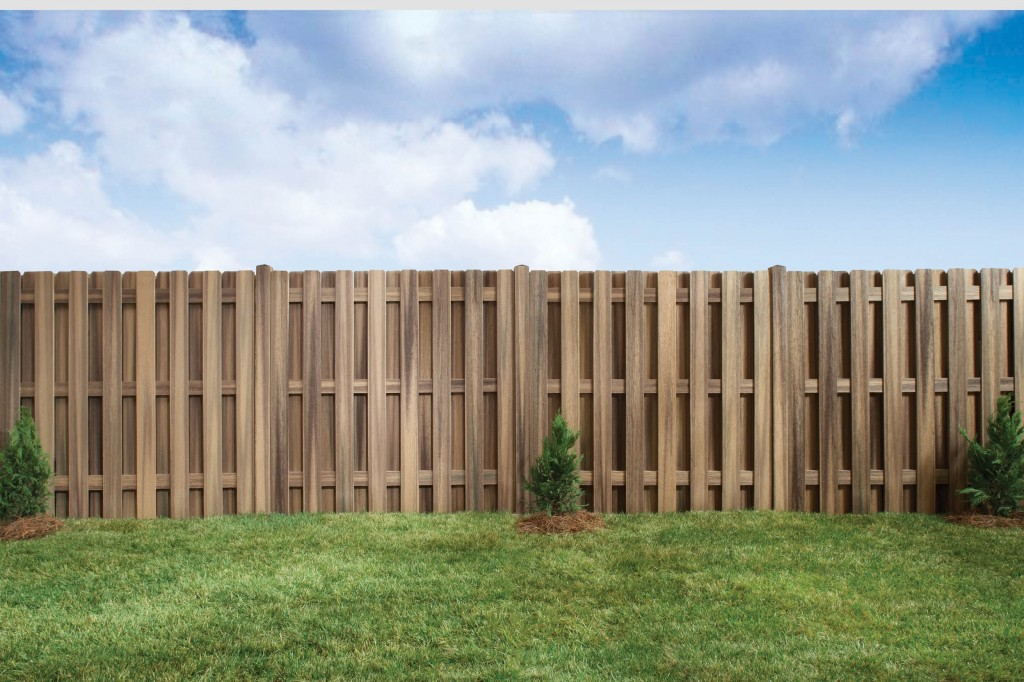 Wooden Composite Fencing