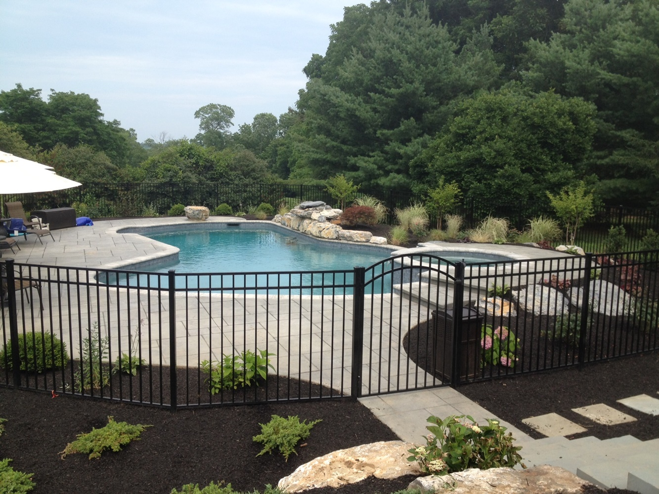 Wrought Iron Pool Fencing