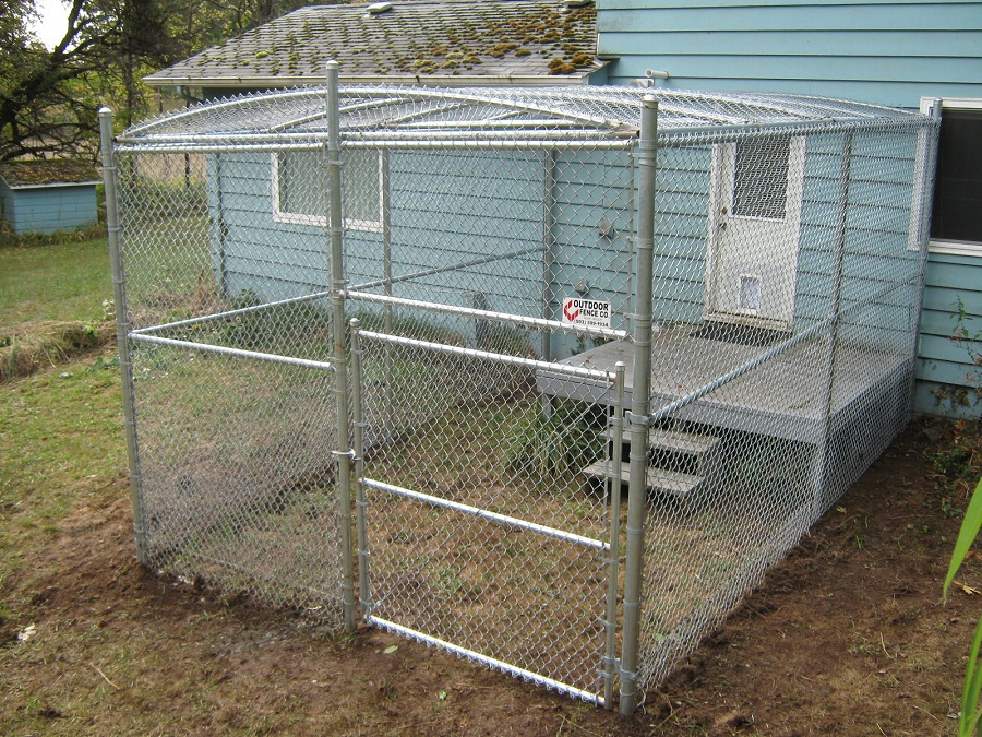 10x10 Dog Kennel Roof Designs