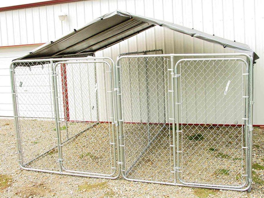 10x10 Dog Kennel Roof