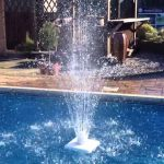 Above Ground Pool Fountain at Home