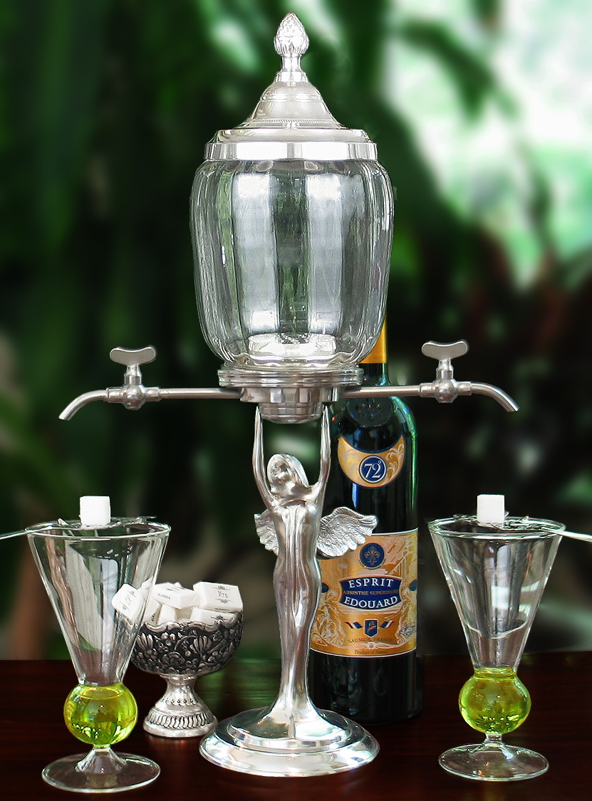 Image of: Absinthe Fountain Party