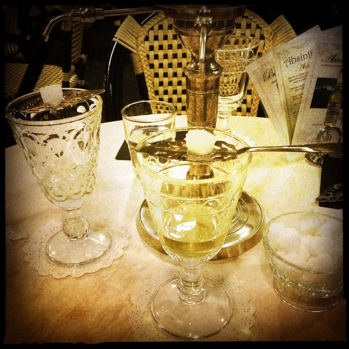 Image of: Absinthe Fountain Set Image