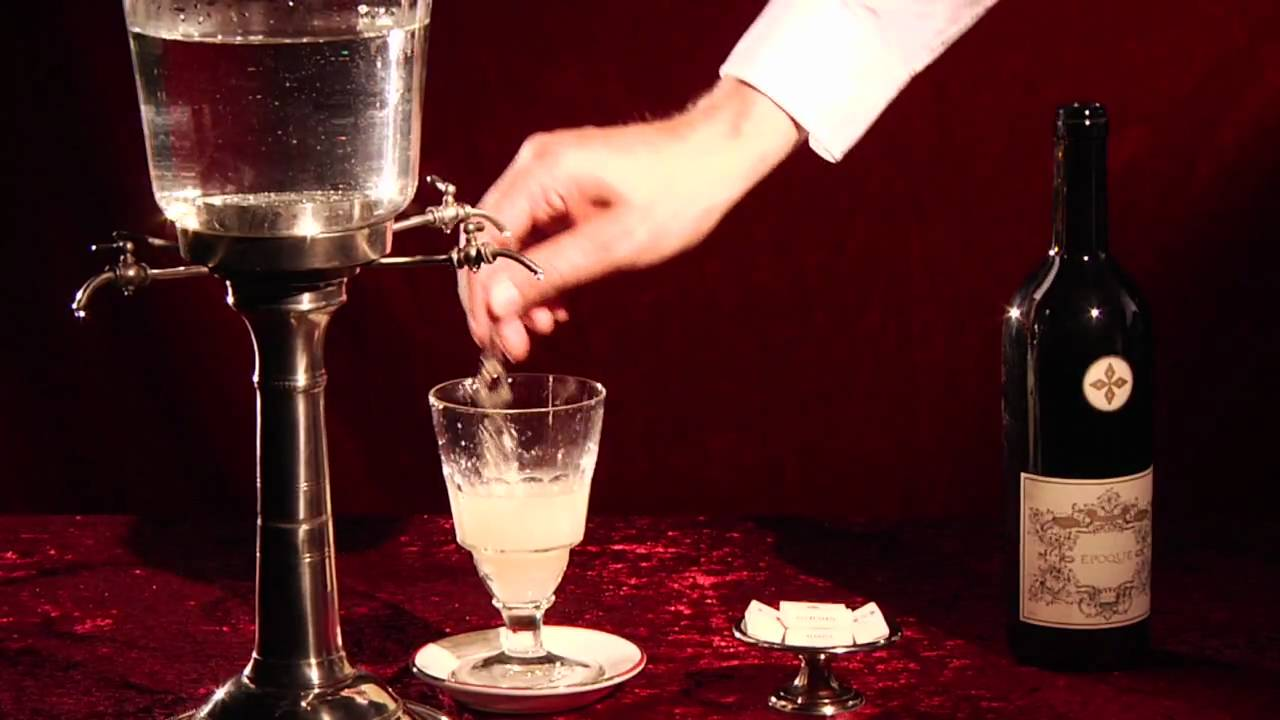 Image of: Absinthe Fountain System