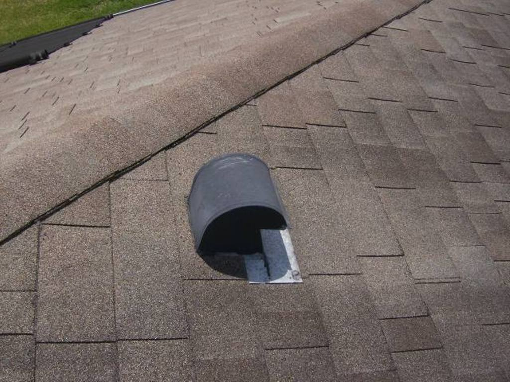 Adding Bathroom Vent Roof