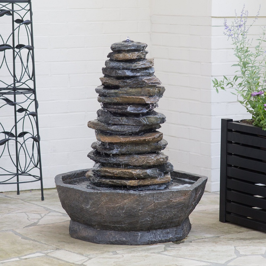 Image of: Alpine Water Fountain Stone