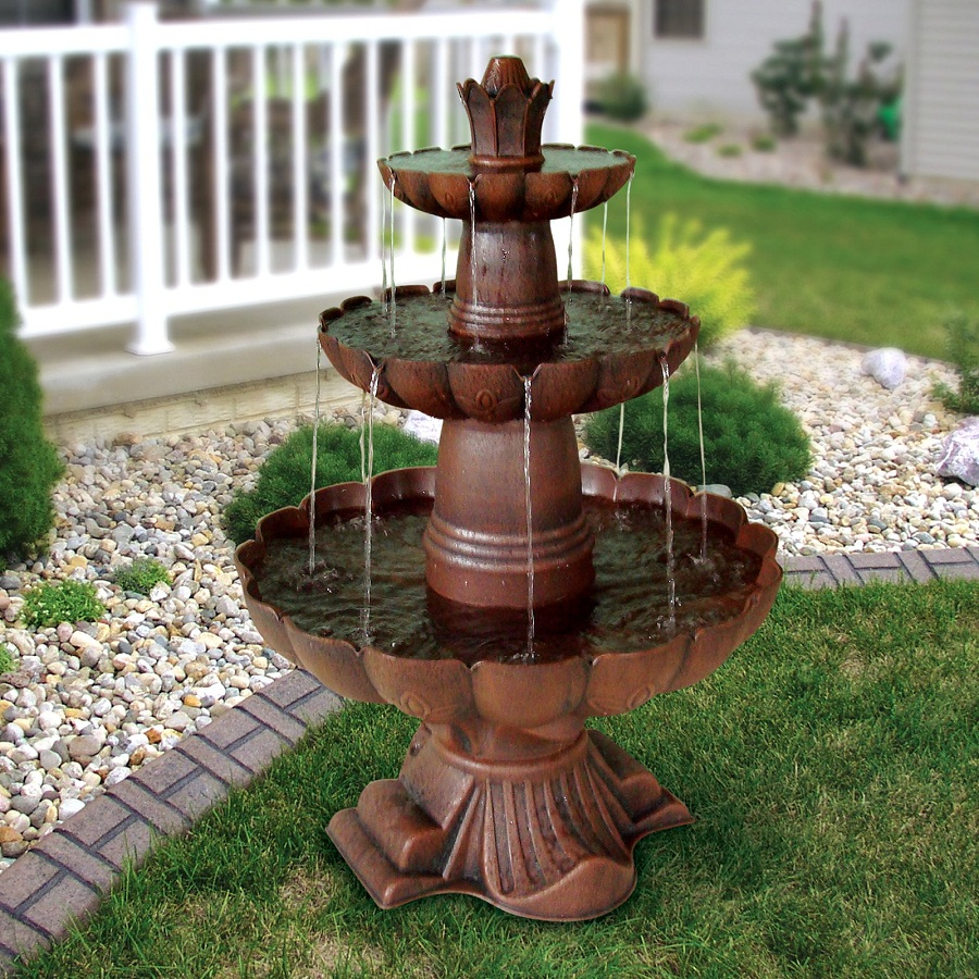 Image of: Alpine Water Fountain Style