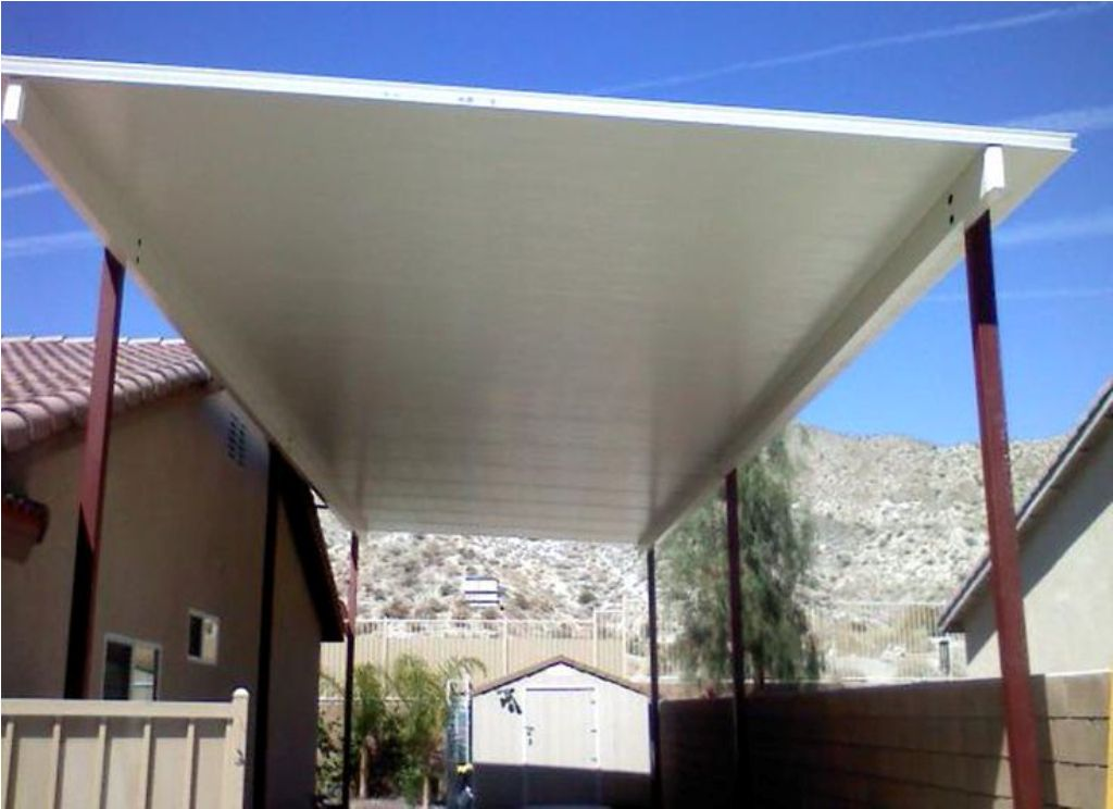 Image of: Aluminum Insulated Roof Panels Fiberglass