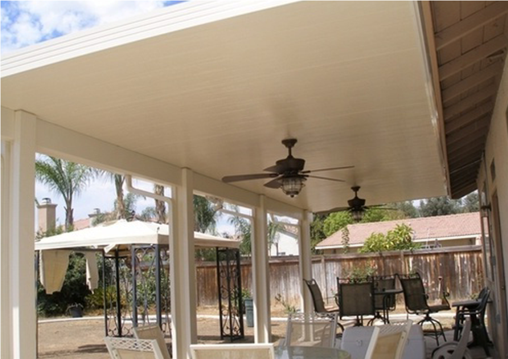 Image of: Aluminum Insulated Roof Panels for Garage