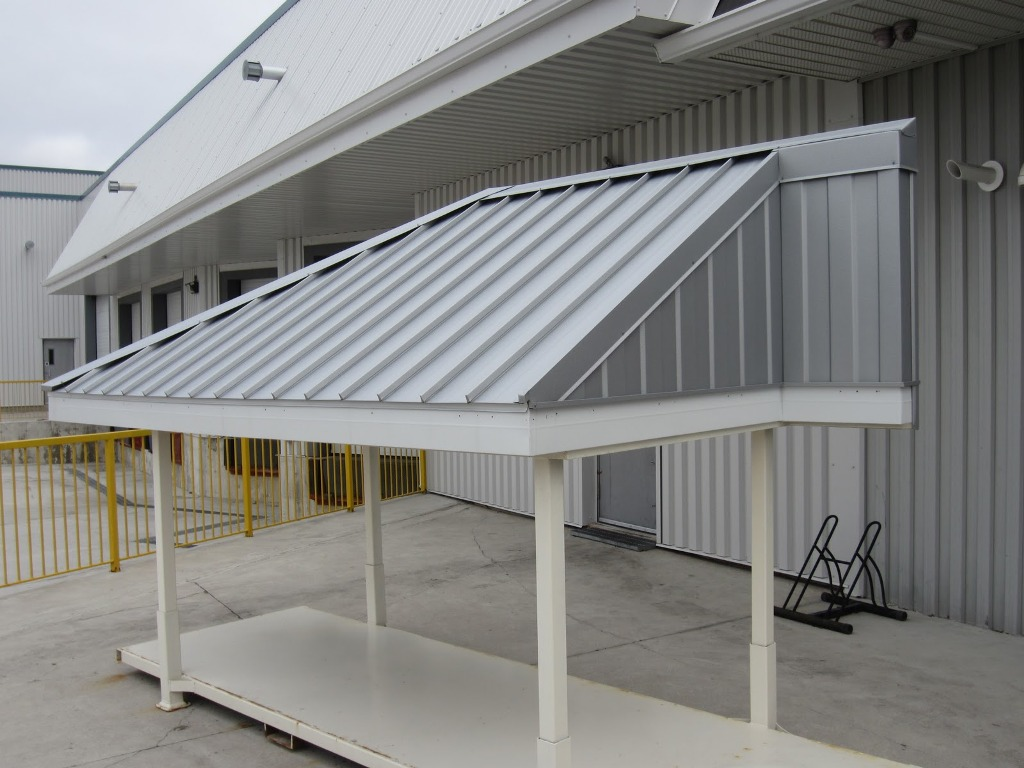 Image of: Aluminum Roofs Canopy