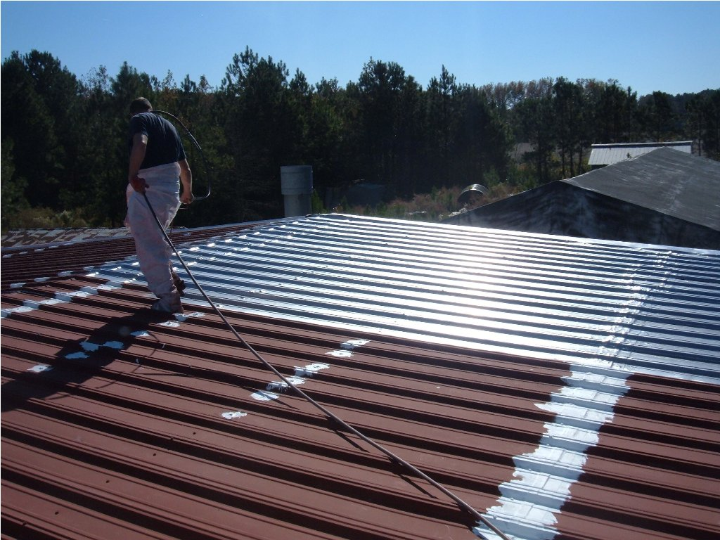 Image of: Aluminum Roofs Color
