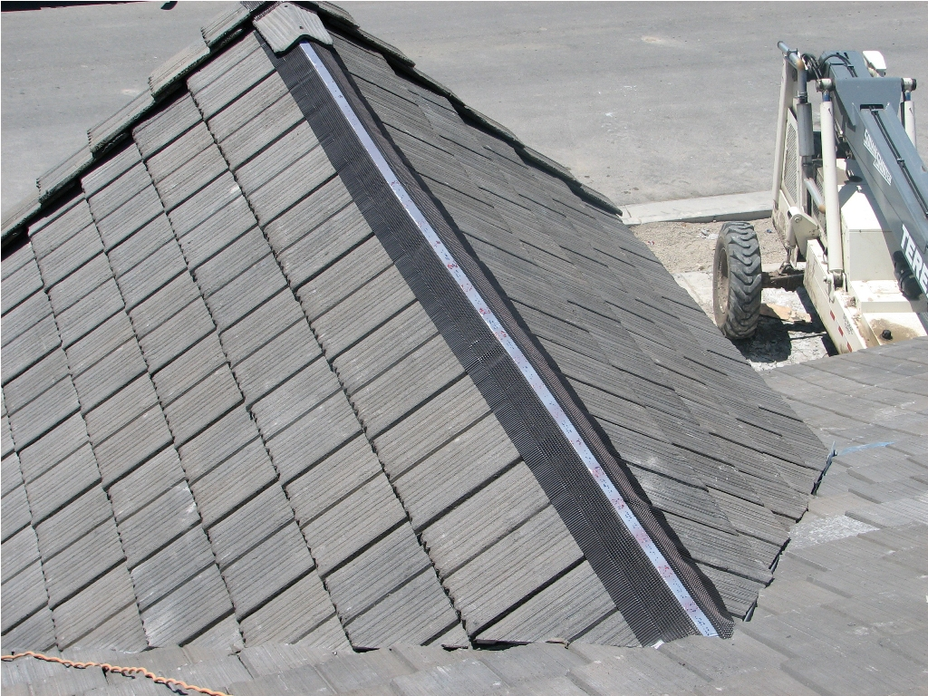 Image of: Aluminum Roofs Tile