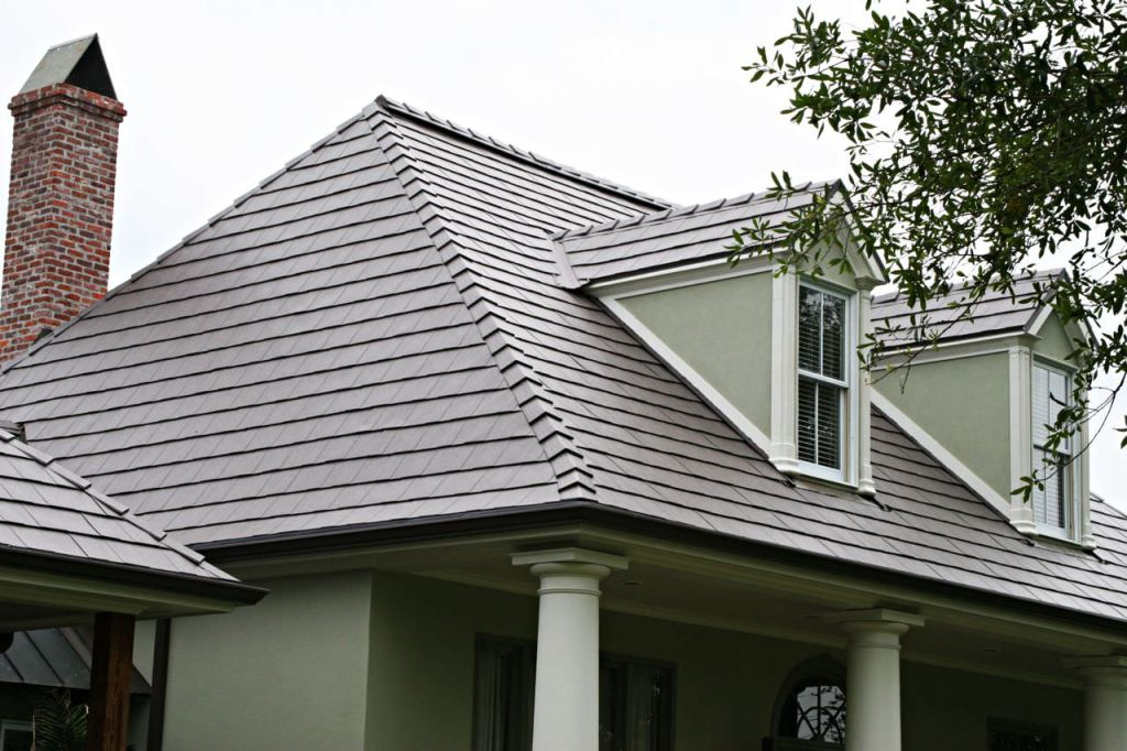 Image of: Aluminum Roofs for Home