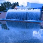 Amazing Blue Fountain