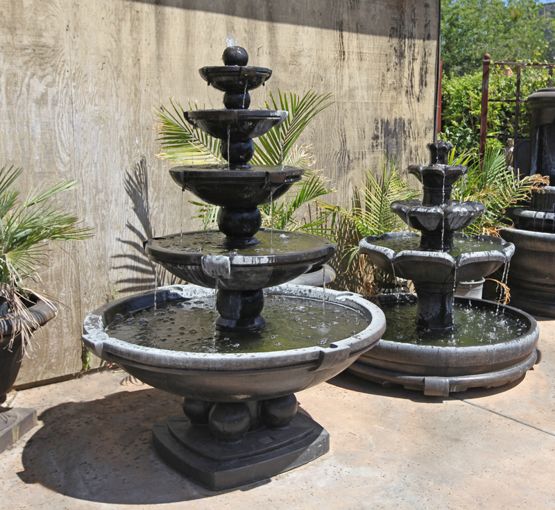 Image of: Amazing Cement Fountains