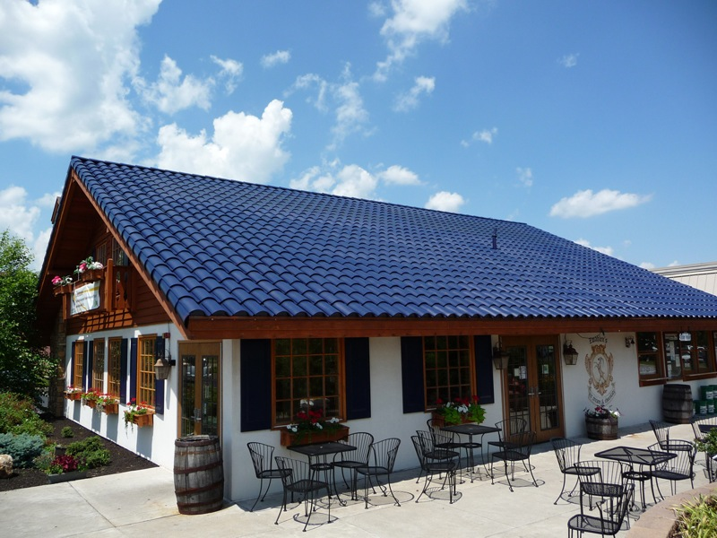 Image of: Amazing Ceramic Roof Tile