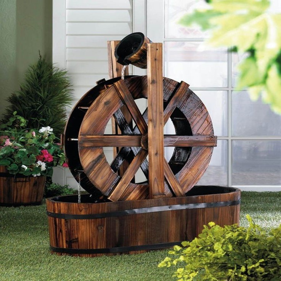 Image of: Amazing Decorative Outdoor Water Fountains