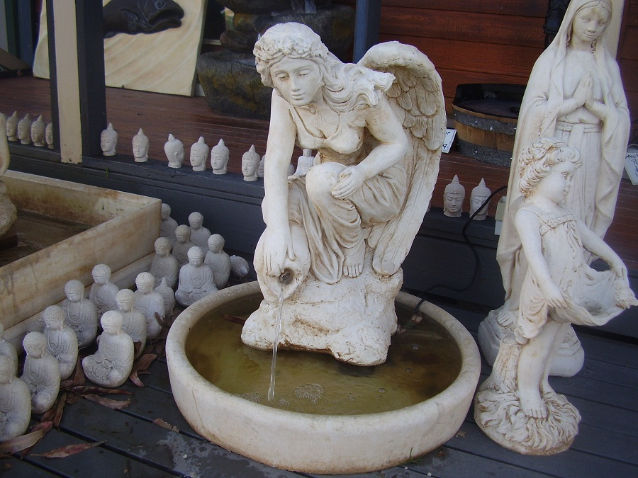 Image of: Angel Water Fountain Feature