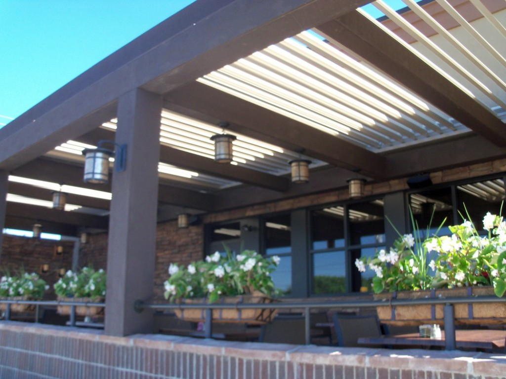 Image of: Arcadia Louvered Roof Cost