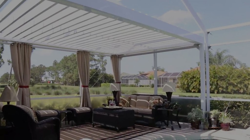 Image of: Arcadia Louvered Roof Price