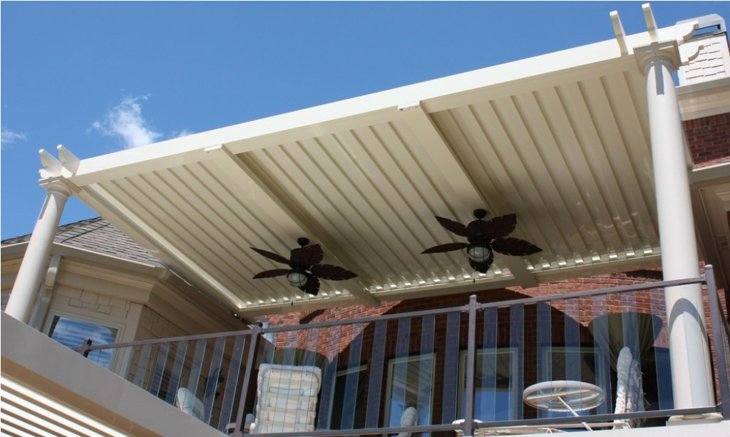 Image of: Arcadia Louvered Roof Rain Sensor