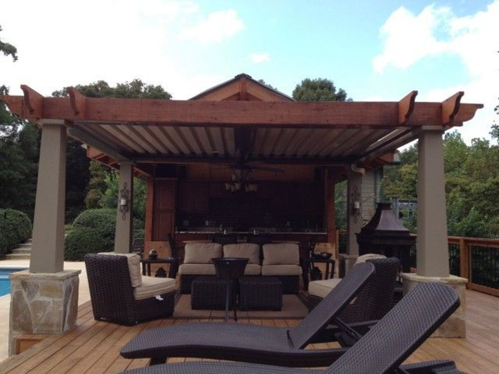 Image of: Arcadia Louvered Roof Ratings