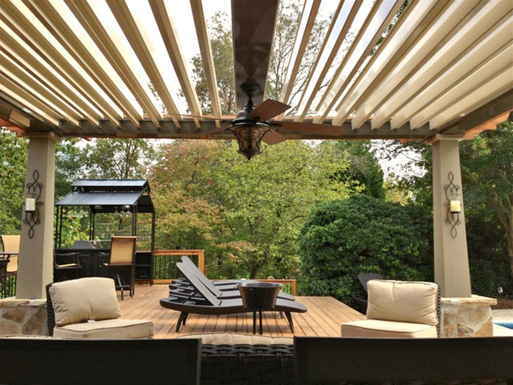 Image of: Arcadia Louvered Roof System Atlanta