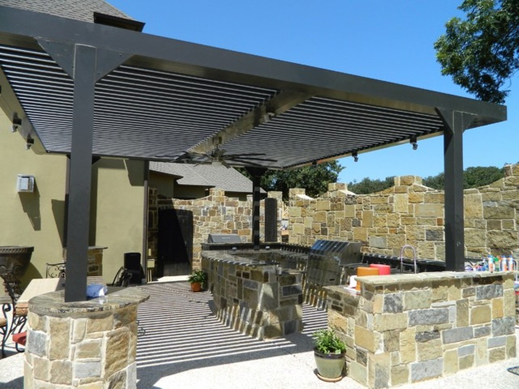Image of: Arcadia Louvered Roof System Charlotte