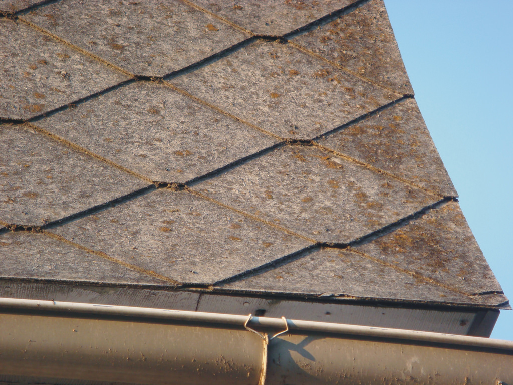 Image of: Asbestos Roof Shingles Colors