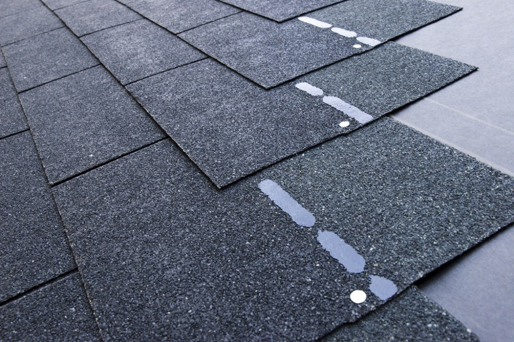 Image of: Asphalt Roof Shingles as Siding