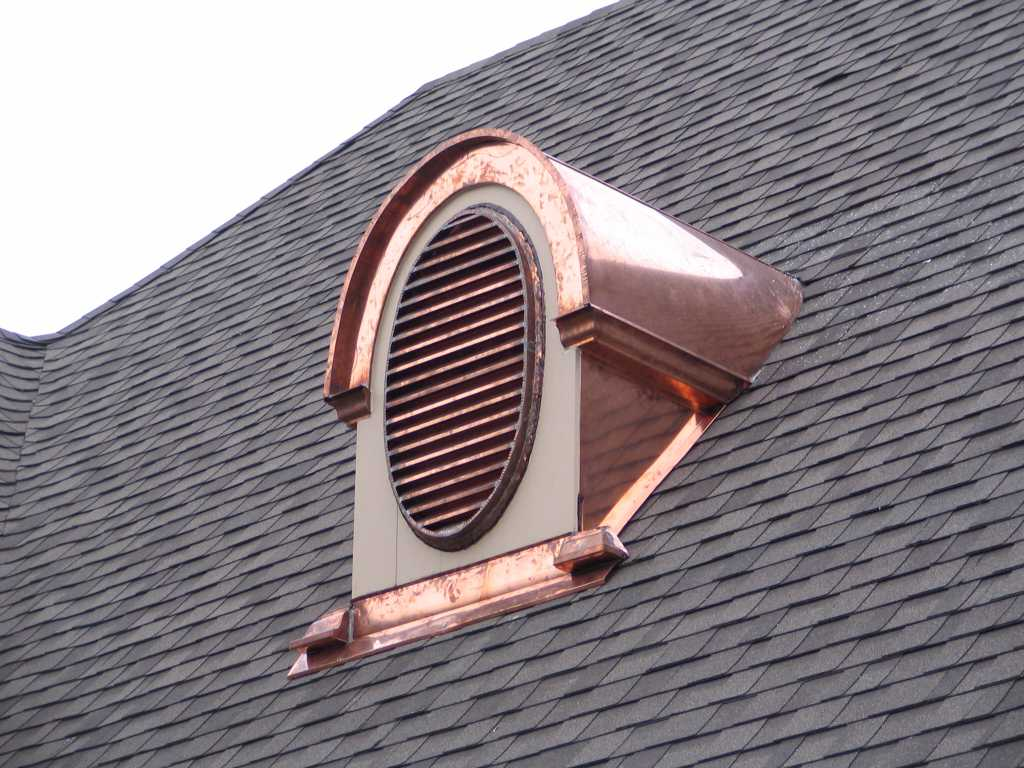 Image of: Attic Roof Vents Style