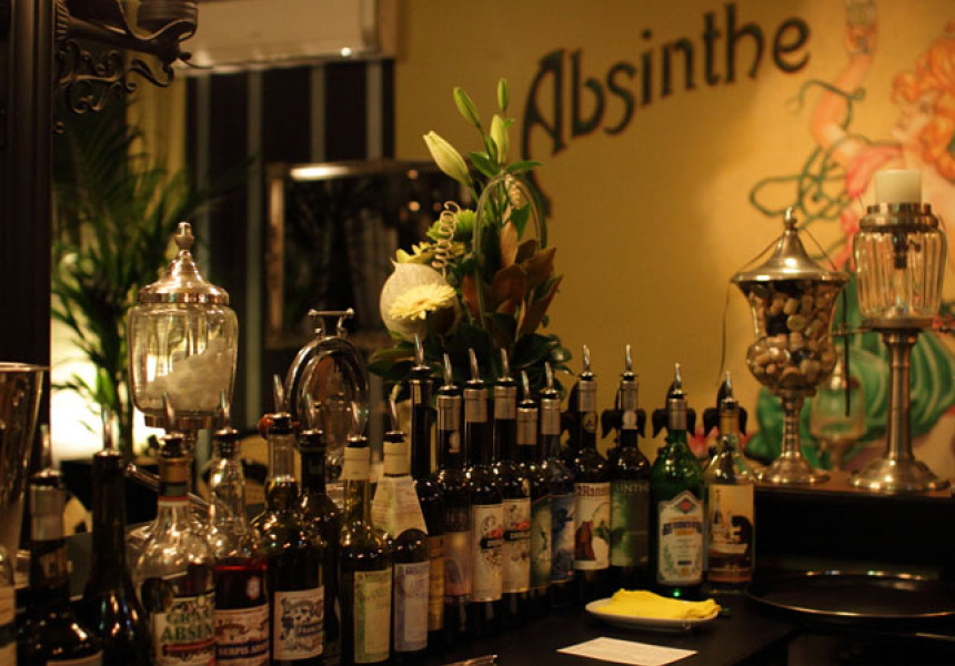 Image of: Awesome Absinthe Fountain Set