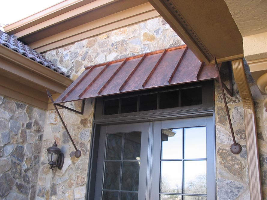 Image of: Awesome Awning Roof