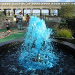 Awesome Blue Fountain