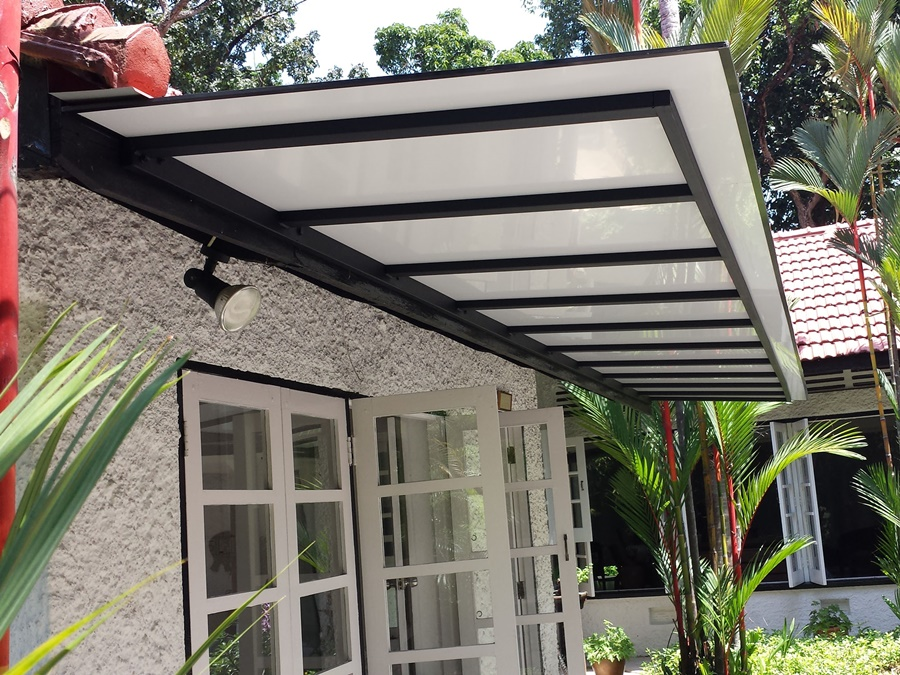 Image of: Awesome Composite Aluminum Roofing Panels