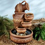 Backyard Drinking Fountain Designs