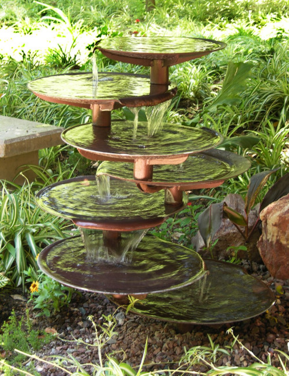 Image of: Backyard Drinking Fountain Style