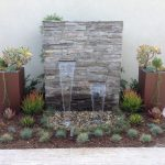 Backyard Water Fountains Wall Stones