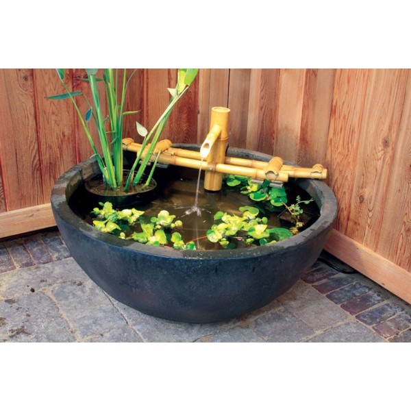 Image of: Bamboo Accents Fountain Kit