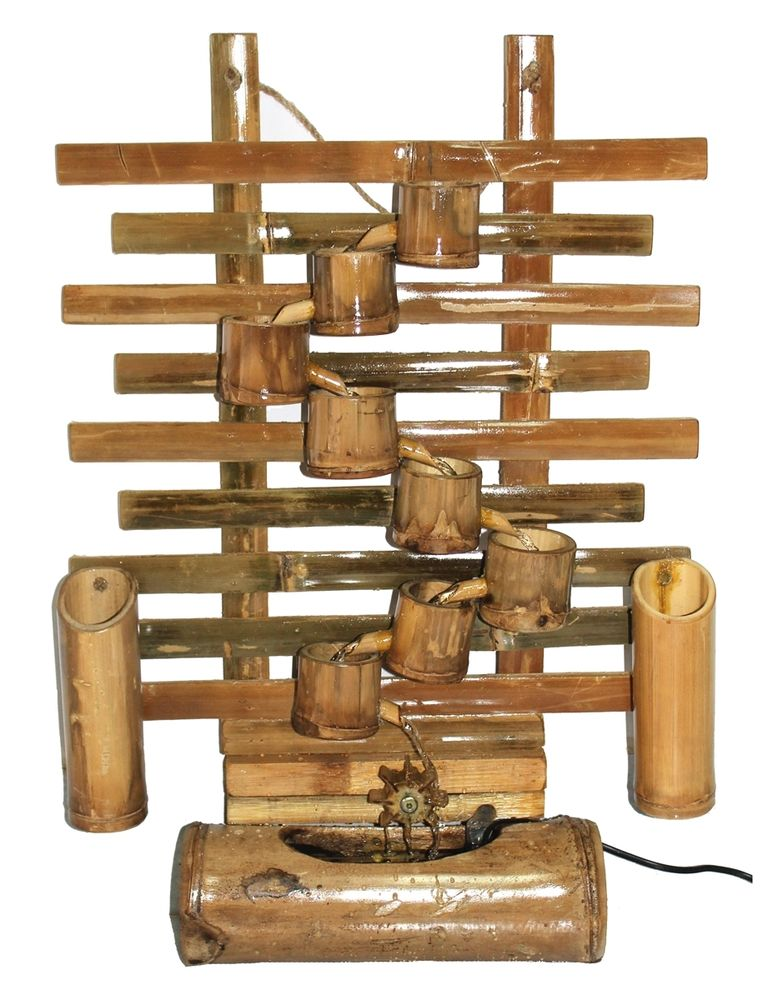 Image of: Bamboo Fountain Pump Kit